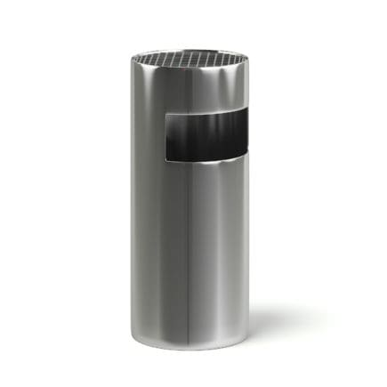 Metal Recycle Bin 3D Model