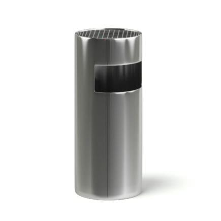 Metal Recycle Bin 3D Model