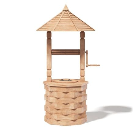 Decorative Well 3D Model