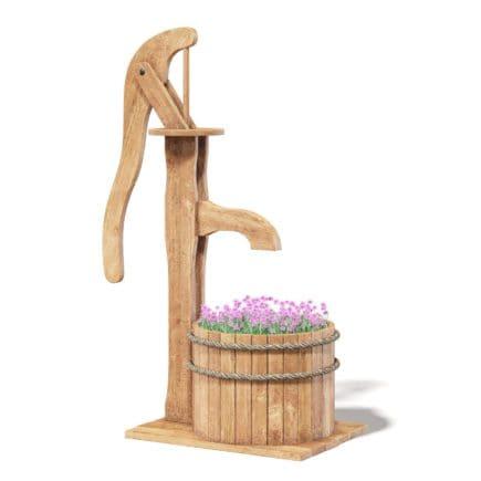 Decorative Water Pump 3D Model