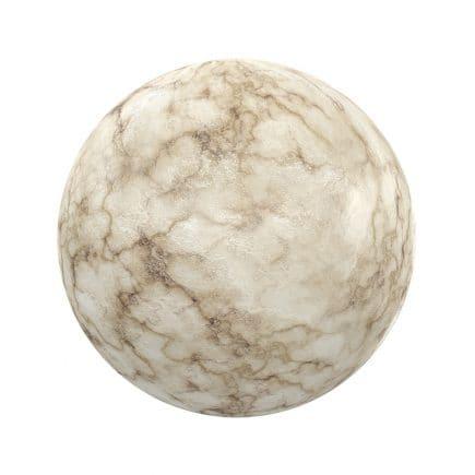 Beige Rough Marble PBR Texture