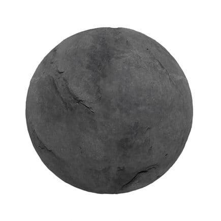 Black Stone PBR Texture