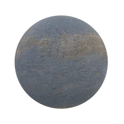 Blue Rough Stone PBR Texture
