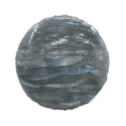 Blue Shiny Rock PBR Texture
