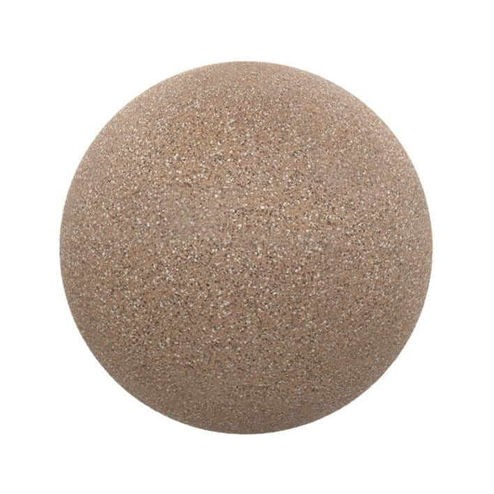 Brown Freckled Stone PBR Texture