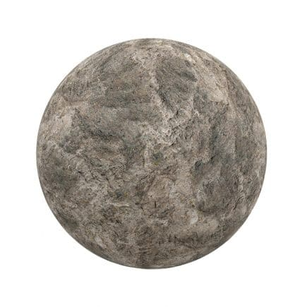 Brown Rough Stone PBR Texture