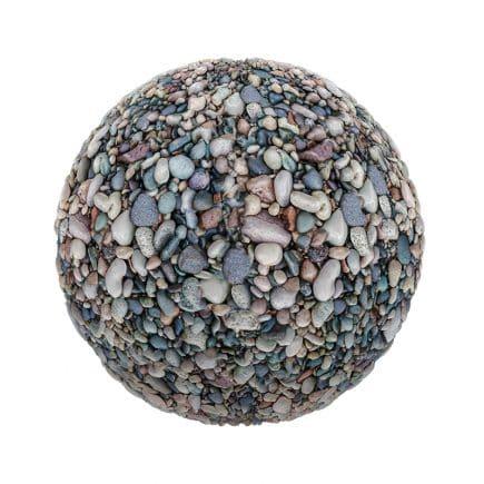 Colorful Pebbles PBR Texture