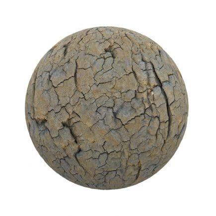 Cracked Dirt PBR Texture