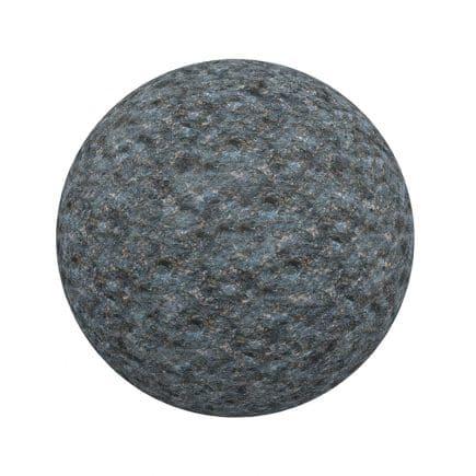 Dark Blue Stone PBR Texture