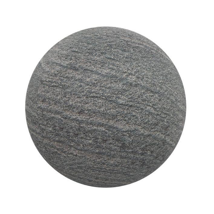 Dark Grey Stone PBR Texture