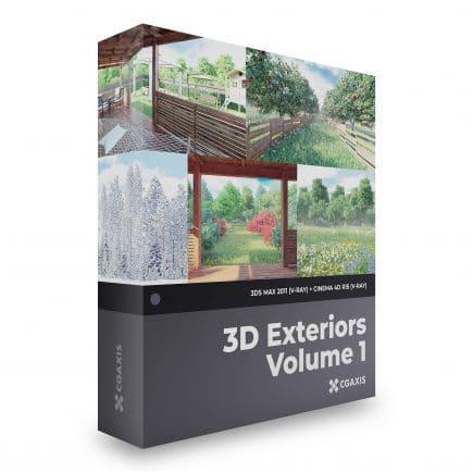 3d exteriors scenes