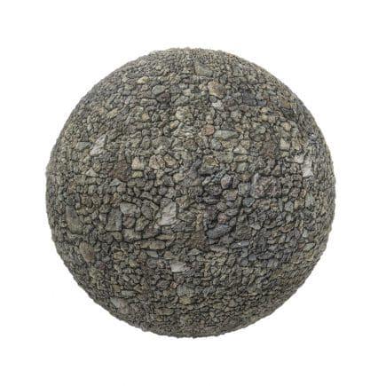 Grey Gravel PBR Texture