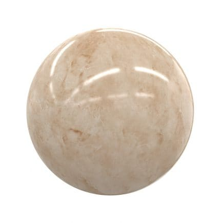 Orange Marble PBR Texture