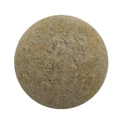 Orange Stone PBR Texture