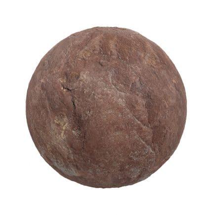 Red Sandstone PBR Texture