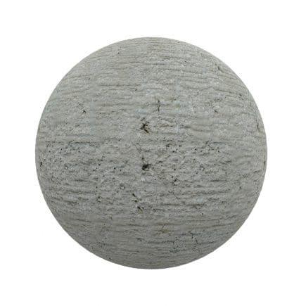 Rough Grey Wall PBR Texture