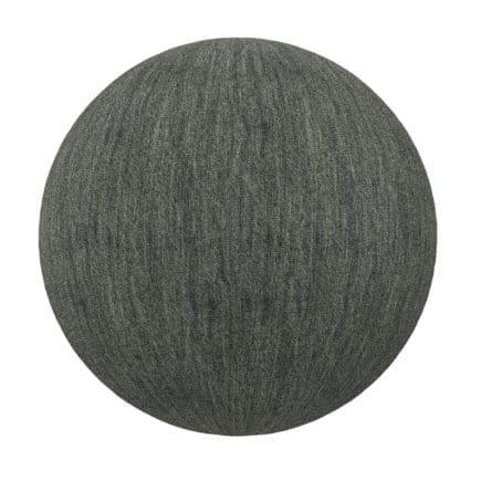 Black Fabric PBR Texture