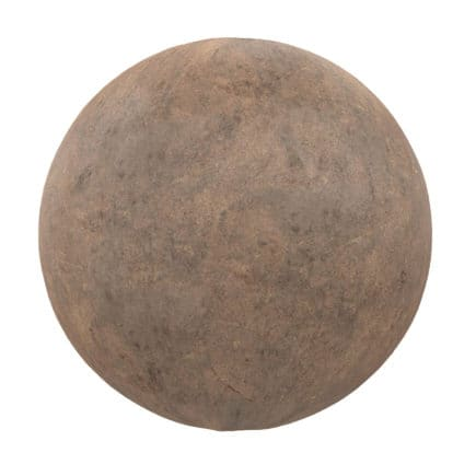 Brown Concrete PBR Texture