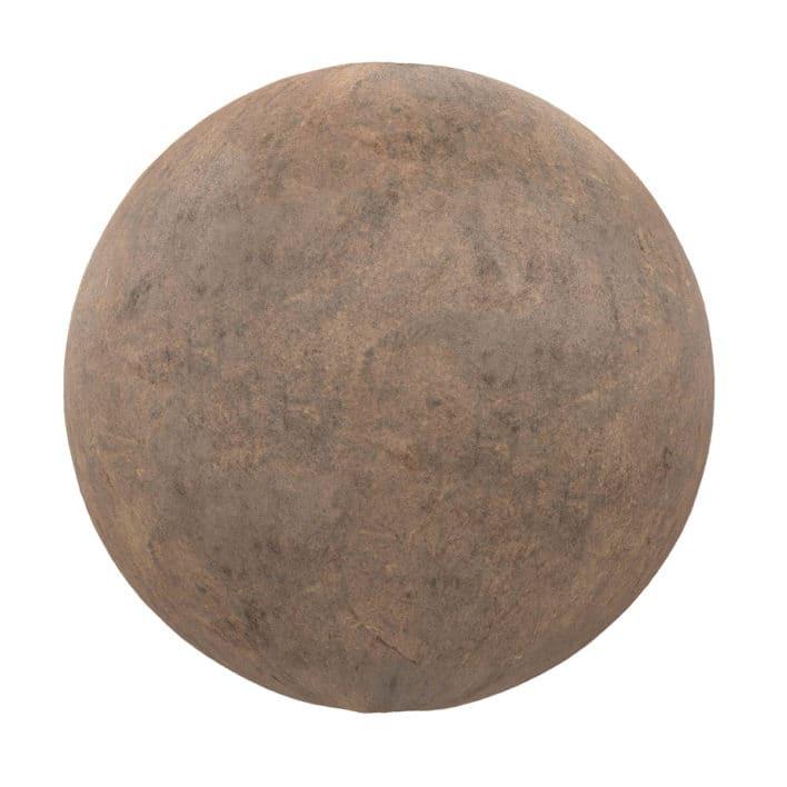 Brown Concrete PBR Texture