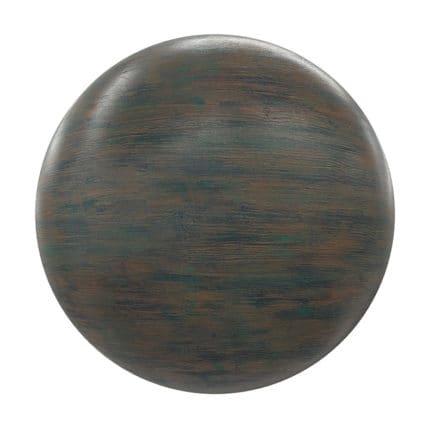 Dark Painted Wood PBR Texture