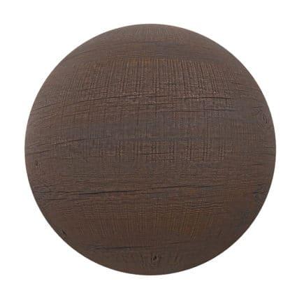 Dark Wood PBR Texture