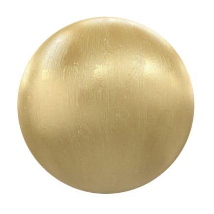 Golden Metal PBR Texture