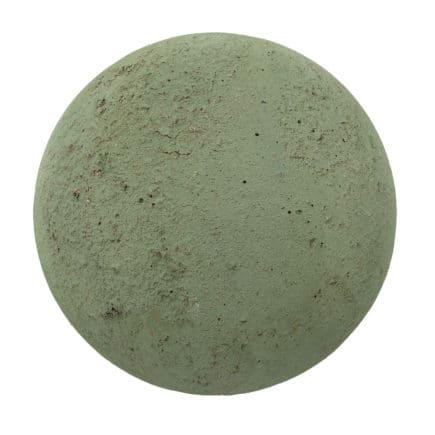 Green Concrete PBR Texture