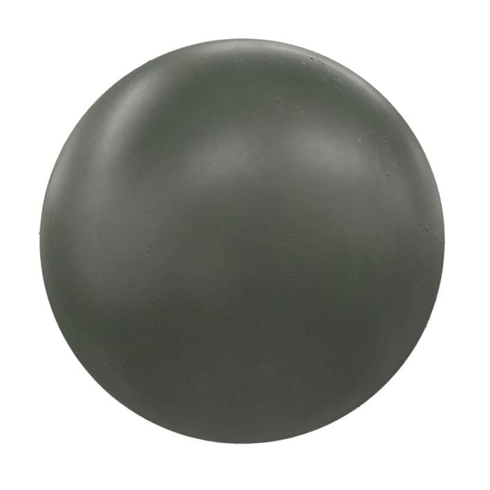 Green Painted Metal PBR Texture