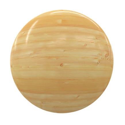 Light Shiny Wood PBR Texture