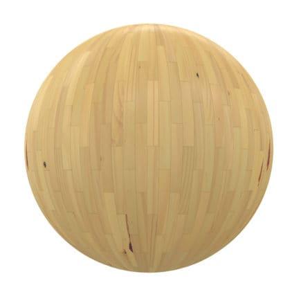 Light Shiny Wood Tiles PBR Texture