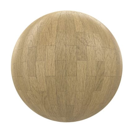 Light Wood Tiles PBR Texture
