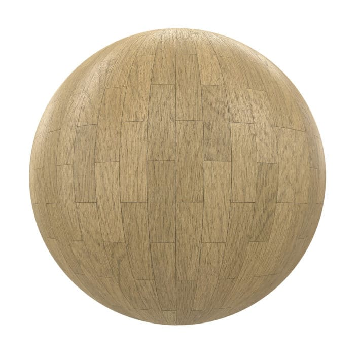 Light Wood Tiles PBR Texture