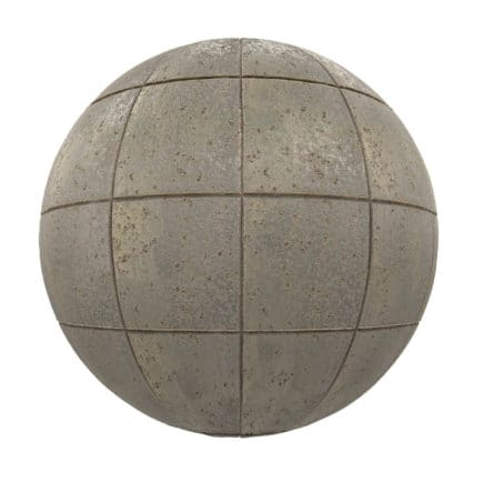Old Metal Panels PBR Texture