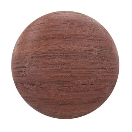 Old Painted Wood PBR Texture