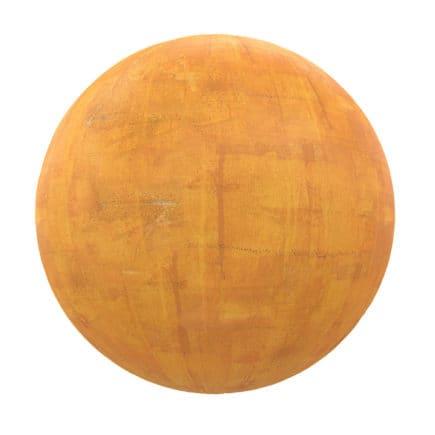 Orange Concrete PBR Texture
