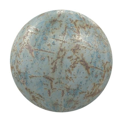 Painted Old Metal PBR Texture