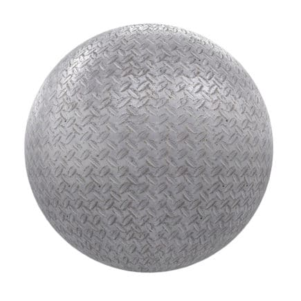 Patterned Metal PBR Texture