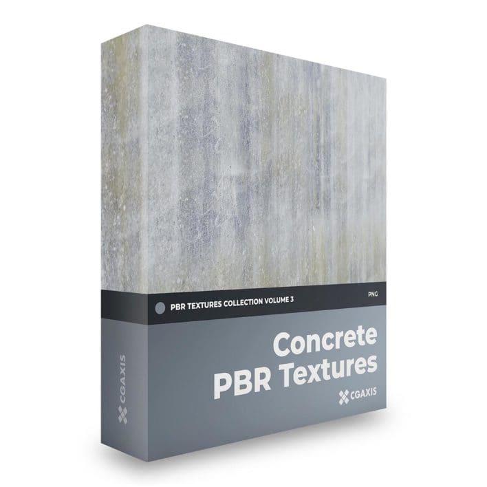 concrete pbr textures