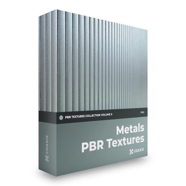 metals pbr textures