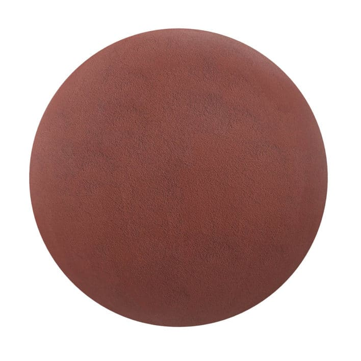 Red Concrete PBR Texture