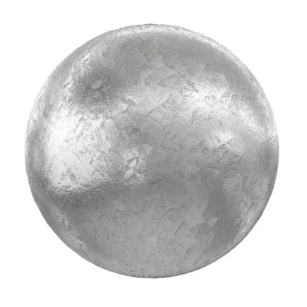 Rough Shiny Metal PBR Texture