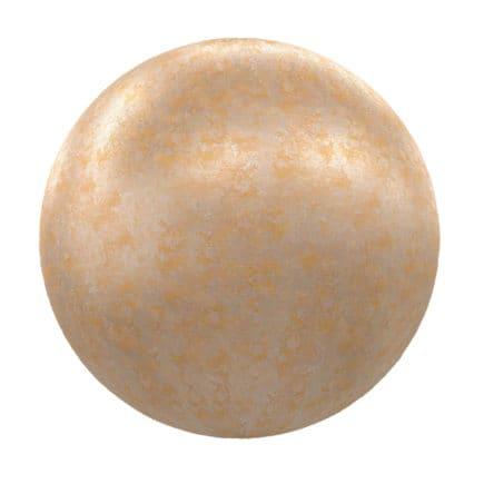Rusty Golden Metal PBR Texture