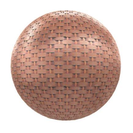 Rusty Metal Grid PBR Texture