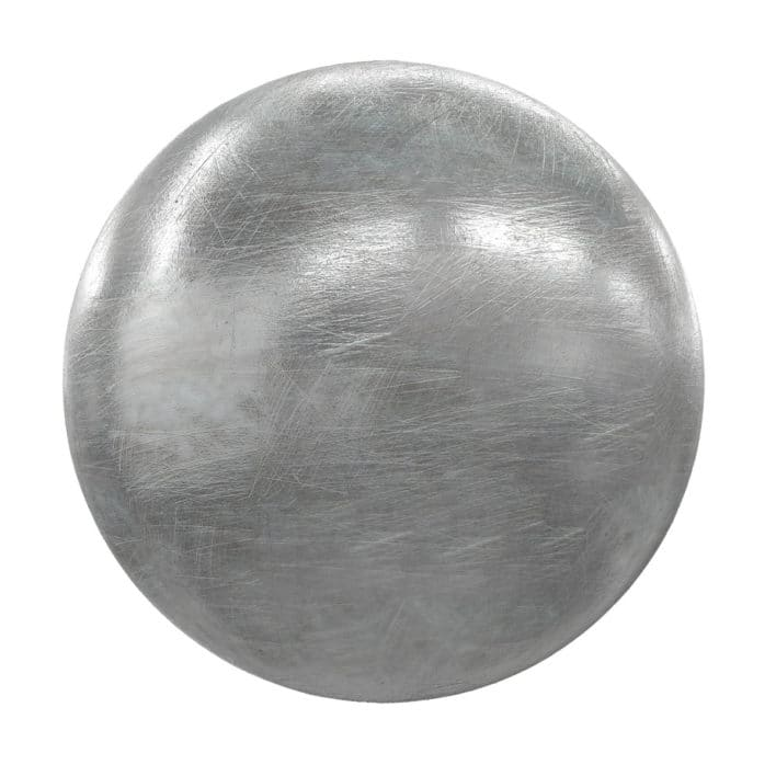 Scratched Metal PBR Texture