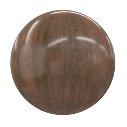 Shiny Wood PBR Texture