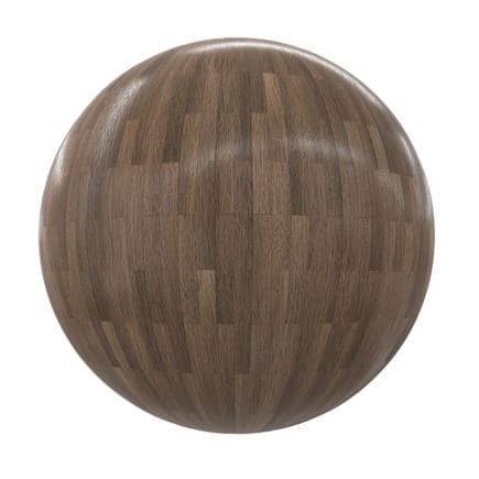 Shiny Wood Tiles PBR Texture
