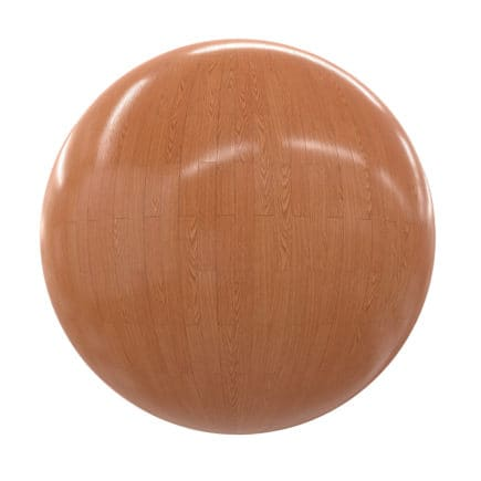 Shiny Wood Tiles PBR Texture
