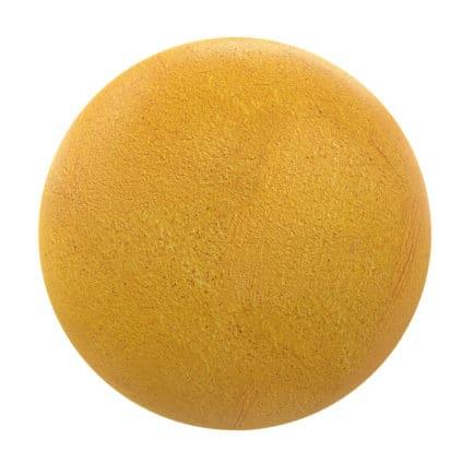 Yellow Concrete PBR Texture