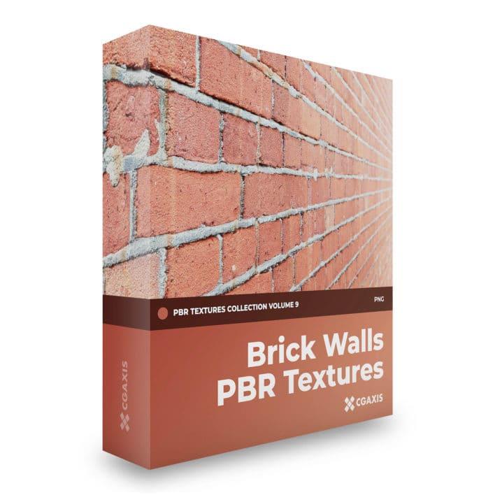 brick walls pbr textures