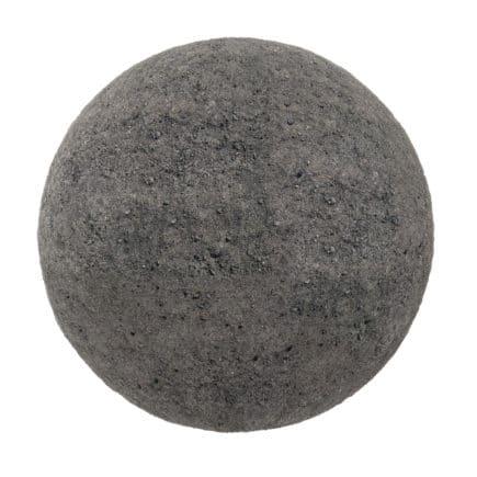 Black Dirt PBR Texture